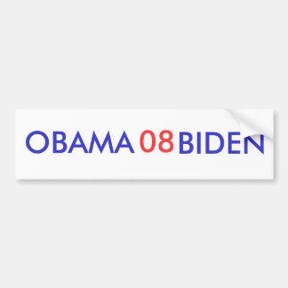 Obama-Biden 08 Bumper Sticker