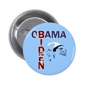 Obama & Biden '08 2 Inch Round Button
