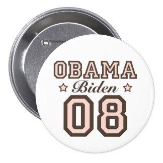 Obama Biden 08 Button