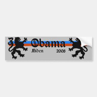 Obama Biden 08 Coat of Arms Bumper Sticker