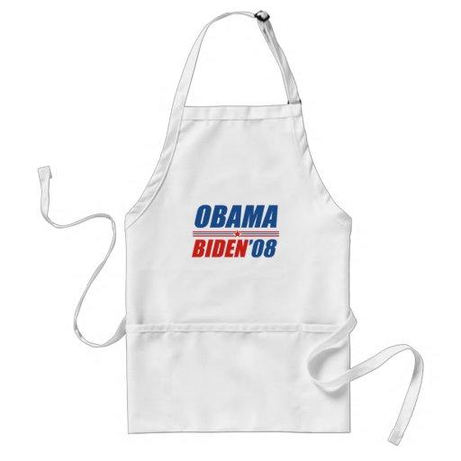 Obama Biden 08 Delantales
