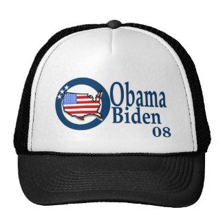Obama Biden 08 Gorras