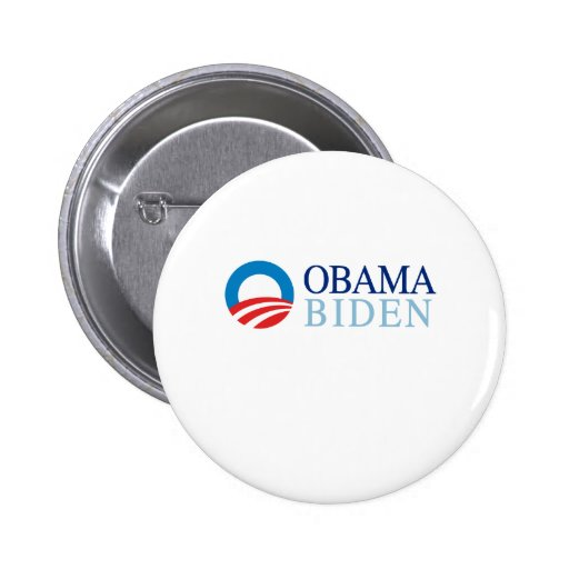 OBAMA / BIDEN 08 PINBACK BUTTONS