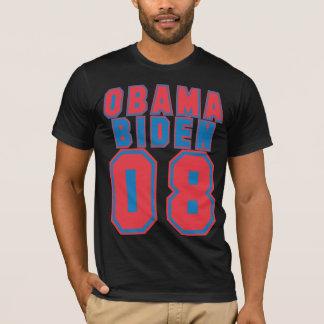 Obama Biden 08, RED & Blue T-Shirt