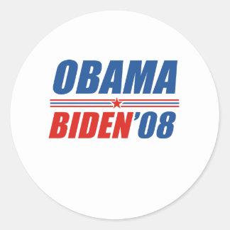 Obama Biden 08 Sticker