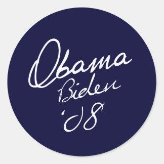 OBAMA / BIDEN 08 Sticker
