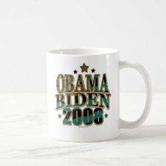Obama Biden '08 Ticket Coffee Mug
