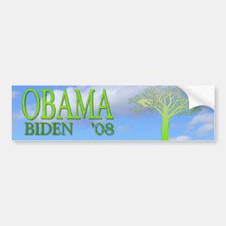 Obama Biden '08 va pegatina para el parachoques ve Etiqueta De Parachoque