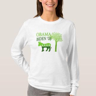 Obama Biden '08 Womens Hoodie