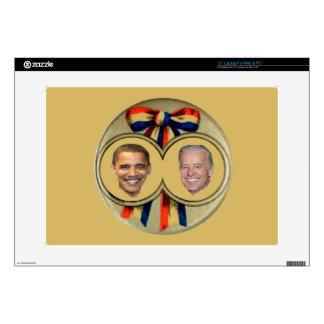 """Obama Biden 15"""" Laptop Skin"""