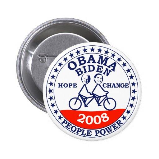 Obama Biden 2008 2 Inch Round Button