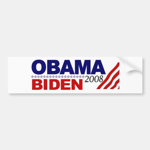 Obama Biden 2008 Bumper Stickers