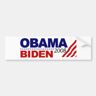 Obama Biden 2008 Etiqueta De Parachoque