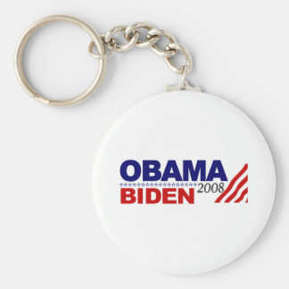 Obama Biden 2008 Keychain