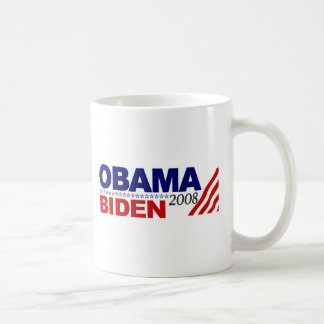 Obama Biden 2008 Tazas