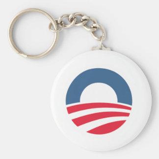 Obama / Biden 2012 Basic Round Button Keychain