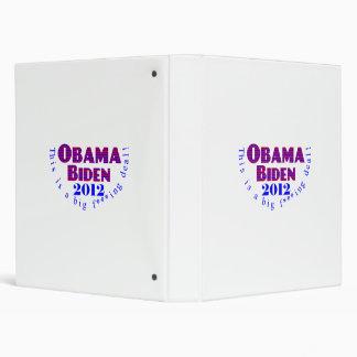 Obama Biden 2012 BFD Binder