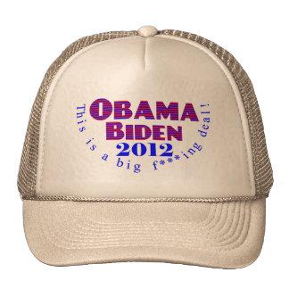 Obama Biden 2012 BFD Hat