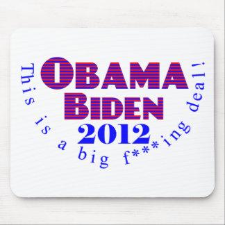 Obama Biden 2012 BFD Mousepad