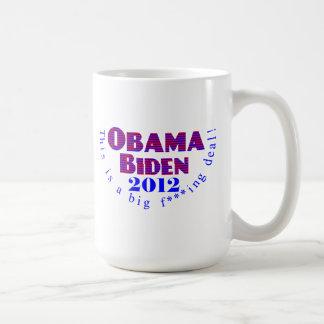 Obama Biden 2012 BFD Mug