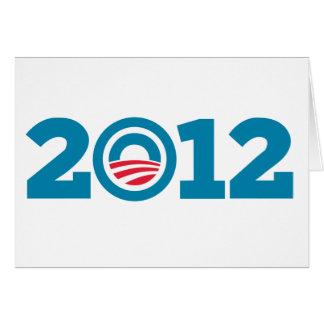 Obama / Biden 2012 (Blue) Card