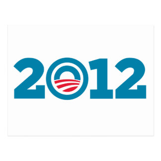 Obama / Biden 2012 (Blue) Postcard