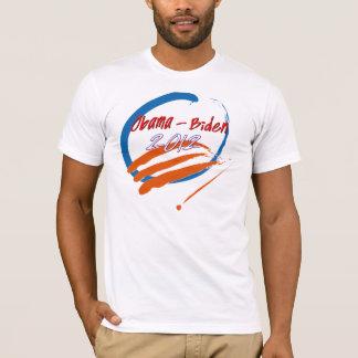 Obama- Biden 2012 brush strokes T-Shirt