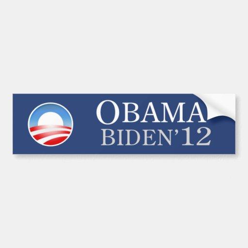 Obama Biden 2012 Bumper Sticker Car Bumper Sticker