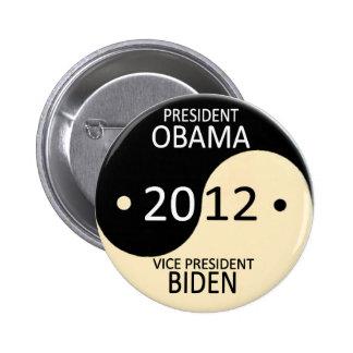 Obama Biden 2012 Pinback Buttons