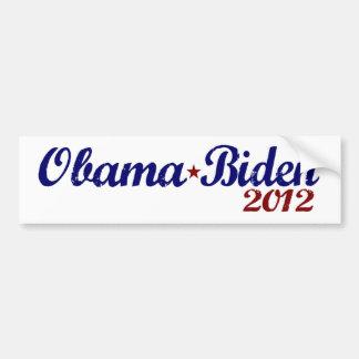 Obama Biden 2012 Etiqueta De Parachoque