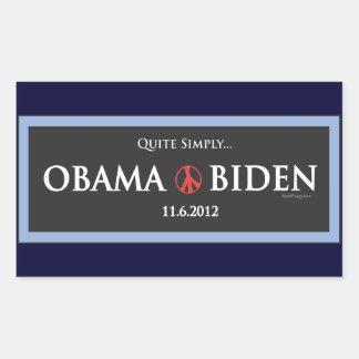 Obama Biden 2012 Campaign Sticker
