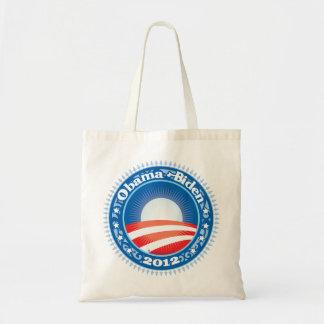 Obama Biden 2012 Circle Tote Bag