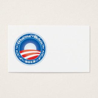 Obama Biden 2012 Circle Business Card