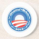 Obama Biden 2012 Circle Drink Coasters