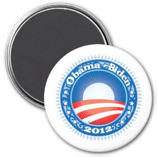 Obama Biden 2012 Circle Fridge Magnets