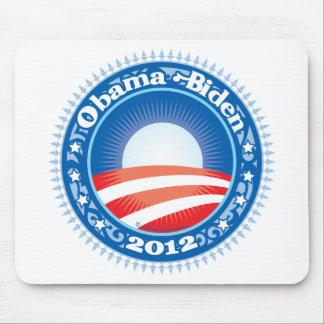 Obama Biden 2012 Circle Mouse Pad