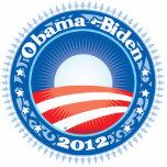 Obama Biden 2012 Circle Photo Sculpture