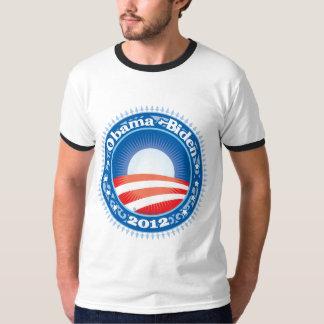 Obama Biden 2012 Circle T-Shirt