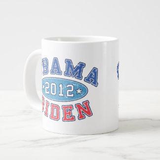 Obama & Biden 2012 Collegiate Election Jumbo Mug