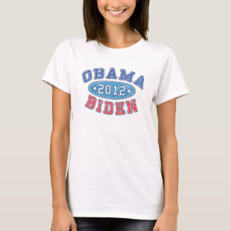 Obama & Biden 2012 Collegiate Election T-Shirt