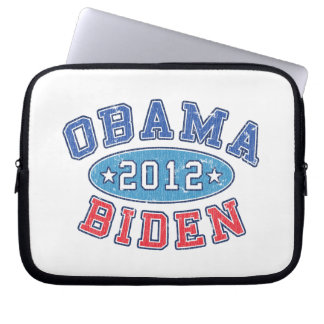 Obama & Biden 2012 Collegiate Laptop Sleeve