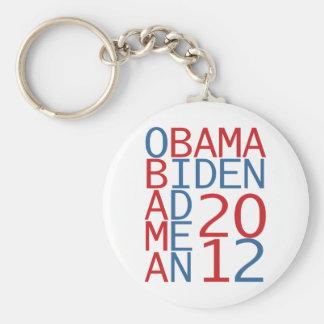 Obama - Biden 2012 cube Key Chain