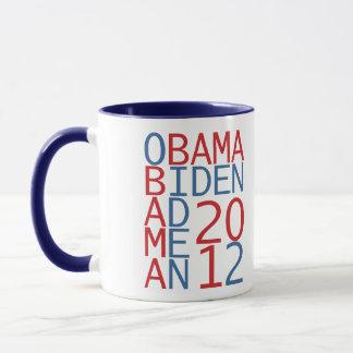Obama - Biden 2012 cube Mug