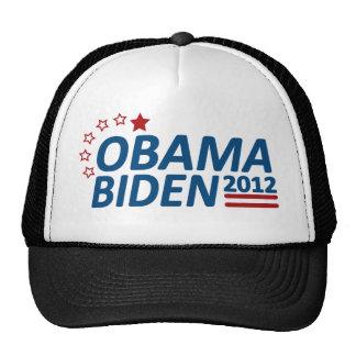Obama Biden 2012 estrellas Gorra