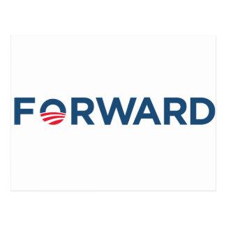 Obama Biden 2012 Forward (Dark Blue ) Postcard