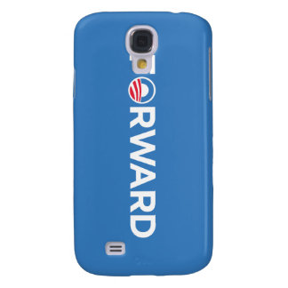 Obama Biden 2012 Forward (White on Light Blue) Galaxy S4 Covers