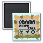 Obama Biden 2012 Imán De Frigorífico