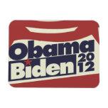 Obama Biden 2012 Imán Flexible