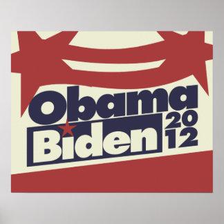 Obama Biden 2012 Posters