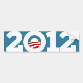 Obama Biden 2012 Pegatina Para Auto